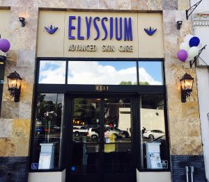 front of elyssium advanced skin care facility